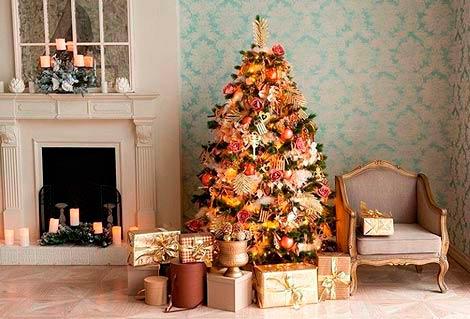 Дизайн и новогоднее оформление дома