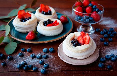 Новогодний десерт Павловой