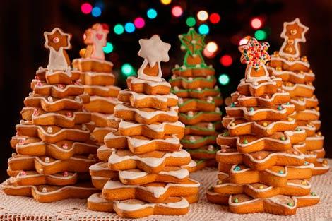 Десерты из печенья на Новый год