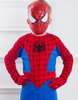 Новогодний наряд Человека-паука