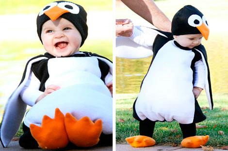 Костюм пингвина на Новый год