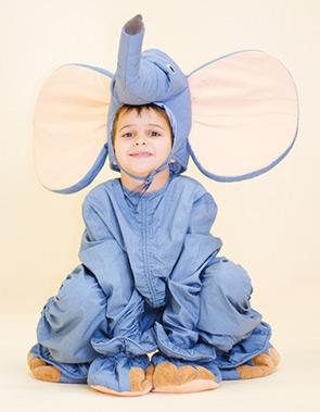Новогодний наряд слоненка мальчику