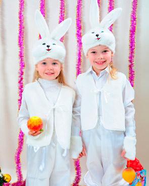 Новогодний наряд зайчика или кролика